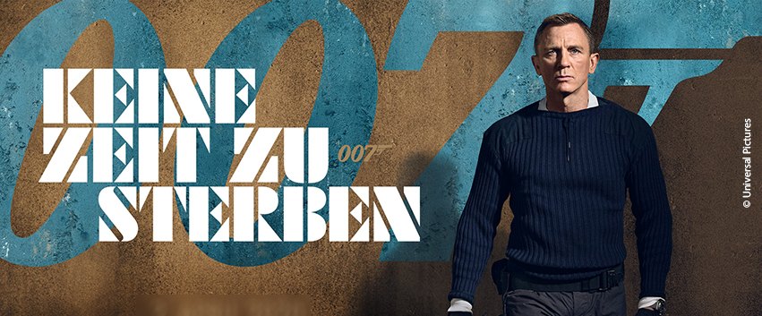 >> Bond 25: Deutsches Hauptplakat vorgestellt