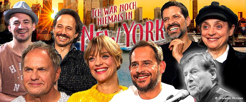 ICH WAR NOCH NIEMALS IN NEW YORK: Gute-Laune-Interviews im bunten Lollipop-Set