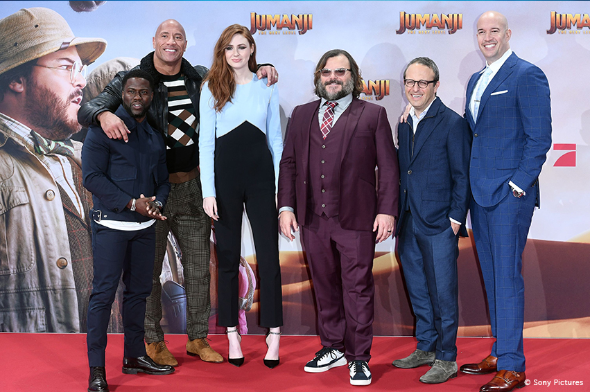 JUMANJI: THE NEXT LEVEL - Grosses Staraufgebot in Berlin