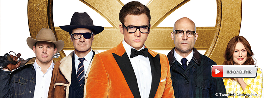 Kingsman: The Golden Circle: 21.09.2017