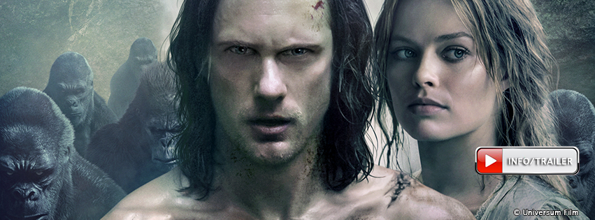 Legend of Tarzan: 28.07.2016