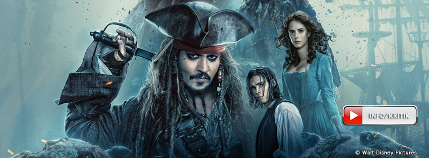 Pirates of the Caribbean 5: Jetzt im Kino