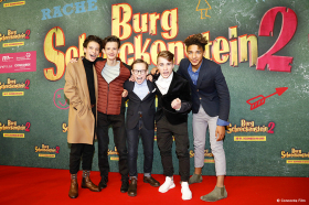 Burg Schreckenstein 2 - Lautstarke Premiere in München