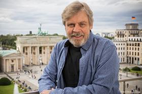 Luke Skywalker in Berlin: Mark Hamill begeistert die Hauptstadt