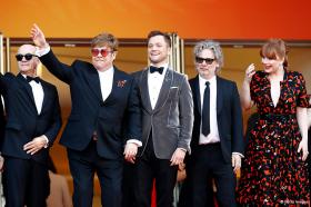 ROCKETMAN rockt den roten Teppich!! Umjubelte Premiere in Cannes!!