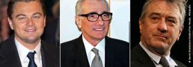 >> Robert De Niro, Leonardo DiCaprio und Jonah Hill ehren Martin Scorsese