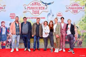 DIE SCHULE DER MAGISCHEN TIERE: Magische Premiere in München